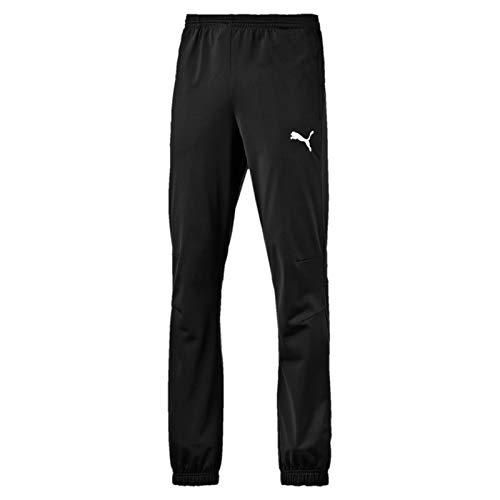Puma Jungen Trainingshose Tricot, black-White, XXL, 653974 03