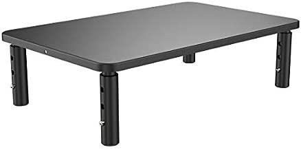 Husky Mounts Monitor Riser Laptop Stand, Adjustable Legs, Stackable, 14.5