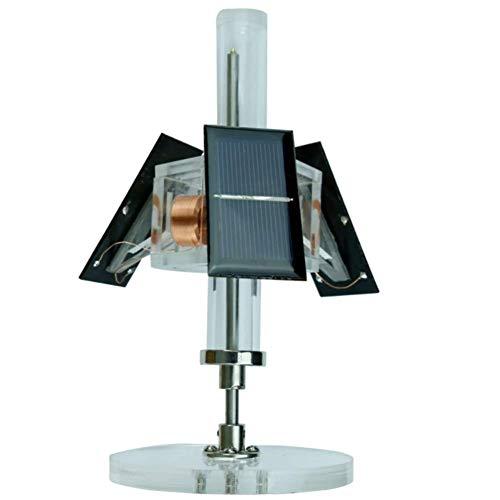 HSART Magnetmotor Mit Magnetschwebebahn Vertikaler Motor 3 Seiten Bürstenlosen Motor Photoelektrischer Effekt Elektromagnetische Induktion Kreative Geschenke