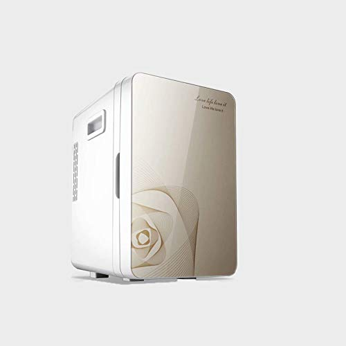 Mini-Kühlschrank in Tischform, 20 Liter Kühlschrank mit Eisbox