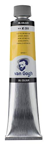 Van Gogh Oil Color Paint, 200ml Tube, AZO Yellow Medium 269
