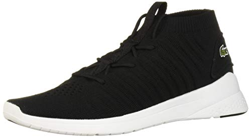 Lacoste Women's LT FIT Shoe, Black/White, 5.5 Medium US