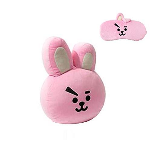 BT Boy Kissen Puppe BT Augen Schablonen Stirnband für BT Fans 1 Set (Cooky)
