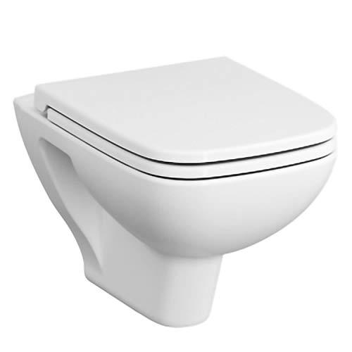 Vitra S20 Vitraflush spülrandlos mit Bidetfunktion, Taharet, Taharat Dusch WC inklusive Softclose WC-Sitz