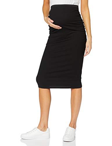 SUPERMOM Skirt 3-Way Falda premamá, Negro (Black P090), XXS para Mujer