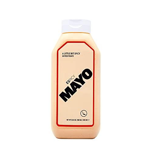 ESPICY Mayo 960 ml | Mayonesa con el Toque Perfecto de Picante | Cremosa | Sin Gluten | Apto para...