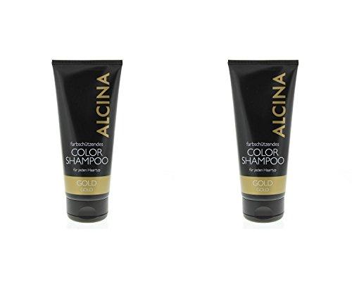 Alcina Color Shampoo Gold 2x200ml