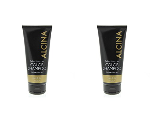 Alcina Color Shampoo Gold 2x200ml