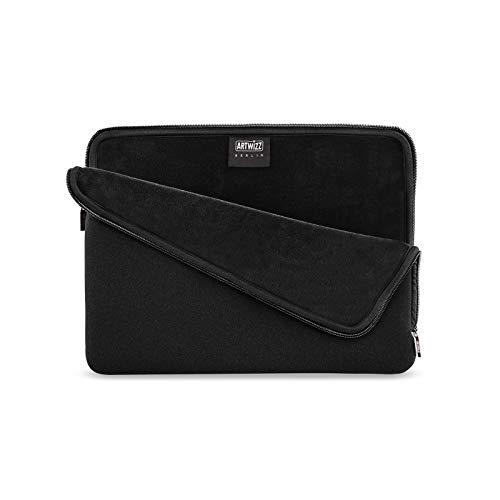 Artwizz Neoprene Sleeve für iPad Pro 10.5 Zoll, Tablet Schutzhülle Tasche Etui Case, schütz vor Spritzwasser, Innen aus weichen Fleece | schwarz