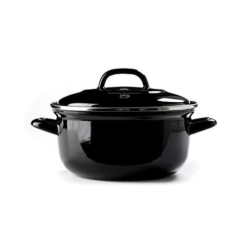 BK Cookware CC002461-001 forno olandese, Acciaio, Nero, 2.5QT