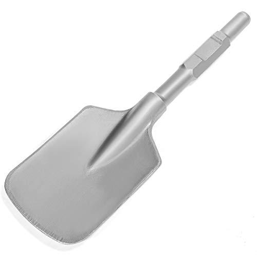 "XtremepowerUS Hex Shank Asphalt Cutter Bit for Electric Demolition Jack Hammer 1-1/8"" Chisel Shovel Scoop Breaker"
