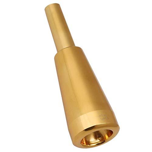 Bestlymood 3C Trompeten MundstüCk Gold Meg Metall Trompete für oder Bach Conn und K?Nig Trompete C Trompete
