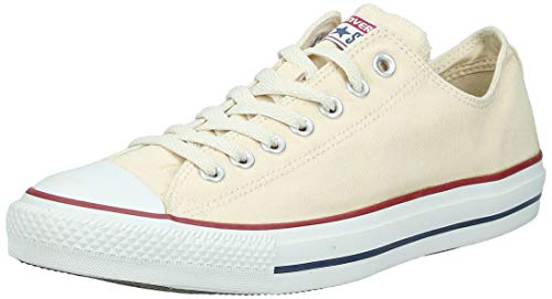 Converse Unisex Chuck Taylor All Star Low Top Natural Sneakers - Men's 8.5 Women's 10.5