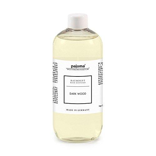 Raumduft Nachfüllflasche 500ml pajoma Duftöl für Diffuser Duft wählbar (Dark Wood)