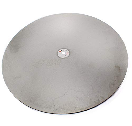 """ABST07165 Abrasive 20"""" Inch 500mm Grit 60-800 Coarse Diamond Grinding Disc Abrasive Wheels Coated Flat Lap Disk Lapidary Jewelry Tools for Stone - (Grit: 180 Medium)"""