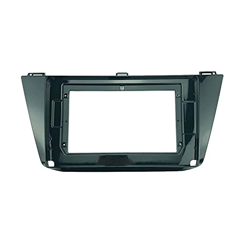 You You 2 Din 10.1 pulgadas coche radio fascias ajuste para VW TIGUAN 2017 marco instalación DVD GPS Mp5 Android reproductor multimedia (nombre del color: U0186 sólo marco)