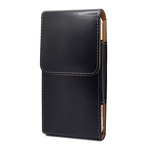 Bolso de un teléfono portátil Para iPhone 12 Pro, 12,11, funda de teléfono celular de cuero brillante XR, Paquete de cintura para hombre, Cinturón de clip de cinturón para Samsung A10E, S8, S9, S10, S