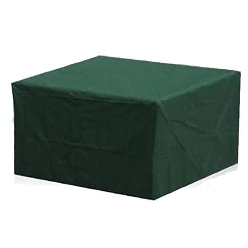 Hotaden Muebles de jardín Protección Cubierta Rectangular Verde Impermeable de la Lluvia de Nieve Polvo a Prueba de Viento de la Tabla al Aire Libre