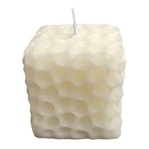 vincente Vela de nido de abeja 3D irregular aromaterapia vela artesanía haciendo velas hechas a mano decoraciones para el hogar