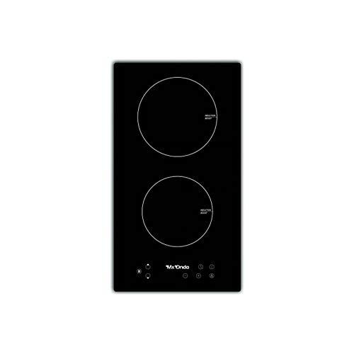 MX ONDA Placa de induccion 2 fuegos para encastrar PI2210 Placas de cocina electrica encimera