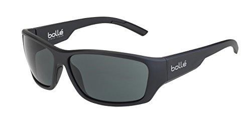 bollé Ibex Gafas, Unisex Adulto, Negro (Mate pc tns), L