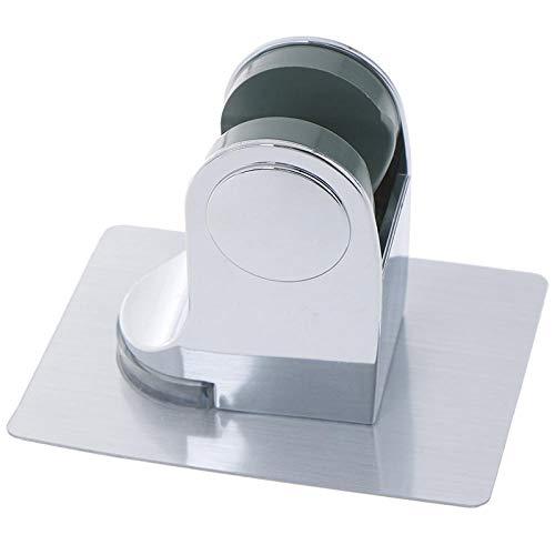 Soporte Ducha Cabeza de ducha de teléfono del estante del sostenedor del soporte de ventosa titular de la ducha ajustable montado en la pared titular de la ducha for el accesorio de baño Soporte de Du