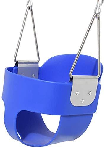 Columpio columpio EVA oscilación de los niños Cesta colgante silla de bebé asiento de bebé columpio El columpio interior Oscilación del bebé gimnasio Sistemas y Oscilaciones (color: verde, Tamaño: 28X