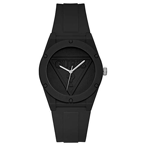GUESS Reloj Analógico para Hombre de Cuarzo con Correa en Silicone W1283L2
