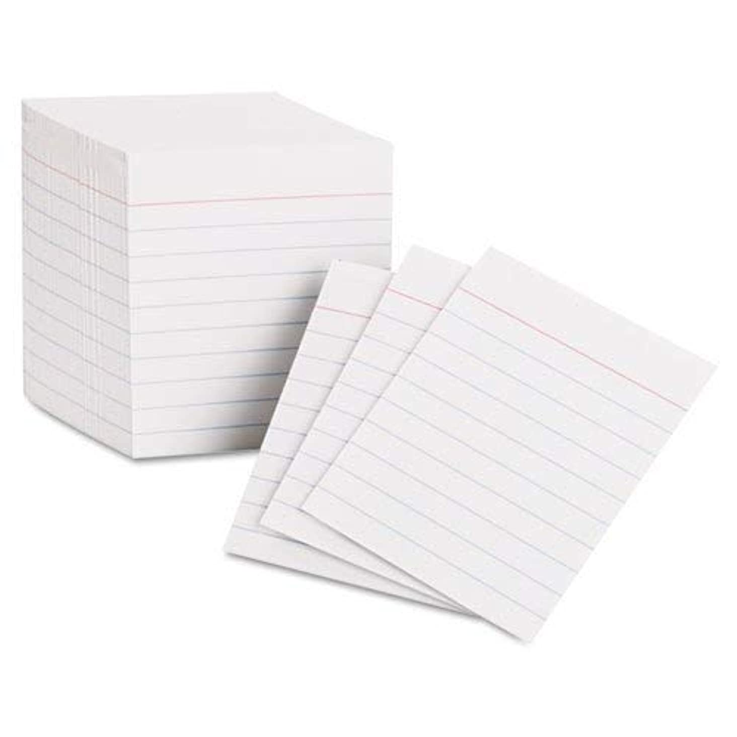 Oxford Mini Index Cards 3 Inch X 2.5 Inches 200 Cards per Package (2 Pack)