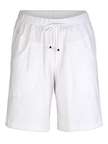 Maritim Shorts in knielanger Form Weiß