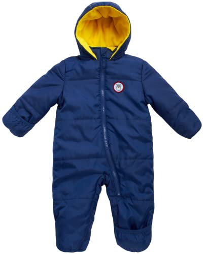 Product Image of the iXtreme Baby Boys' One-Piece Puffer Winter Snowsuit with Hood (Newborn &...
