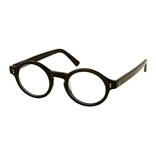 Wizard School Boy Fancy Dress Round Frame Glasses by Robelli