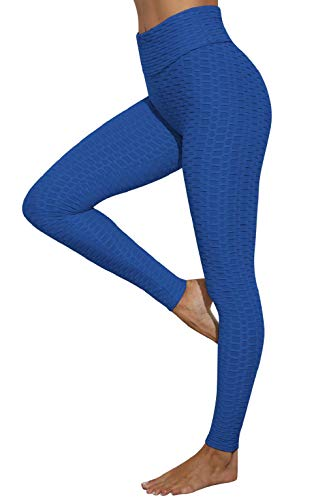 CMTOP Legging Jacquard Donna Sport Legging Fitness Vita Alta Yoga Palestra Fitness Pantaloni Push up Leggings Sportivi Anticellulite Vita Alta Yoga Pants Elastico Resistenti Abbigliamento Jogging