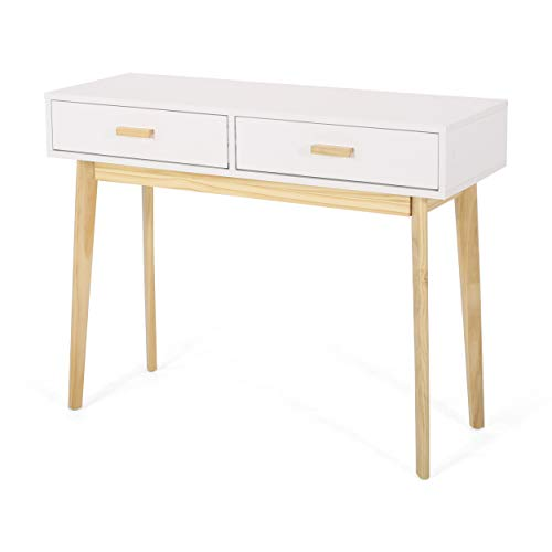 Christopher Knight Home Marcia 2 Drawer Console Table, Matte...