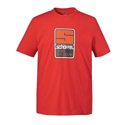 Schöffel Originals Kitimat T-Shirt Homme, Orange, FR : L (Taille Fabricant : 50)