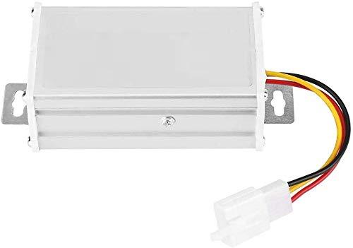 TOPINCN Transformador Adaptador Convertidor para Scooter Eléctrico Reductor De Voltaje Reductor DC 36V-72V A 12V 10A 120W