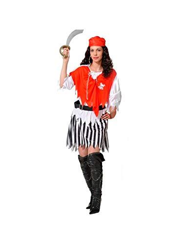 DISBACANAL Disfraz piratesa económico Mujer - -, M