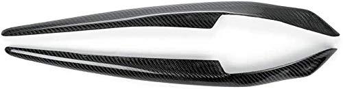 HZHAOWEI Copertura per Sopracciglia Faro Anteriore per Auto Adatta per Mitsubishi Lancer Evo X 2008-2014-A