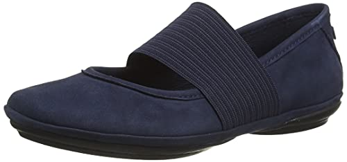 Camper Right Nina, Mary Jane Appartement Femme, Navy, 38 EU