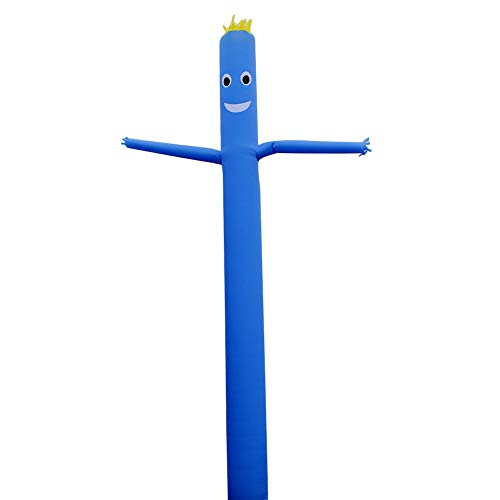 20ft Inflatable Dancer Puppet Arm Flailing Tube Man Wacky Wavy Wind Flying Stand Out Advertising Sky Air No 18in Blower (Blue)