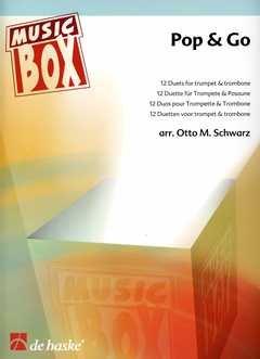 POP & GO - arrangiert für Trompete - Posaune [Noten / Sheetmusic] aus der Reihe: MUSIC BOX