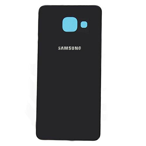 Todotumovil Tapa de bateria Cristal Trasero para Samsung Galaxy A5 2016 510F Negro