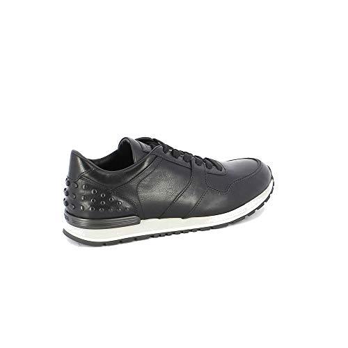 Tod's Herren Xxm0x0hr011dvrb999 Schwarz Leder Sneakers