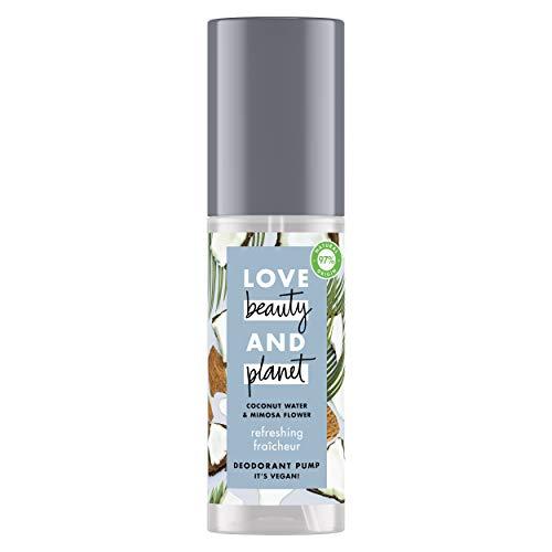 Love Beauty & Planet Déodorant Femme Vegan Brume...