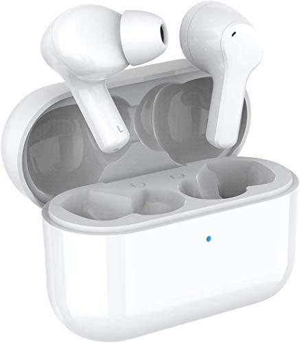 HONOR CHOICE True Wireless Earbuds Bluetooth 5.0 Auricolari, cancellazione del rumore, due chiamate microfono, impermeabilità IP54 (Bianca)