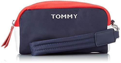 Tommy Hilfiger Damen Th Nylon Washbag Ausweis-& Kartenhülle, Mehrfarbig (Corporate), 7.5x10x19 Centimeters