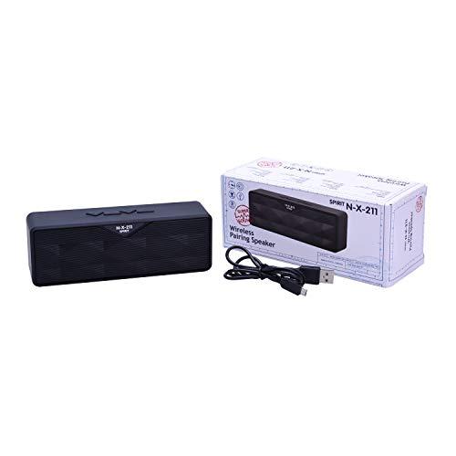 Spirit of St. Louis - Altavoz portátil Bluetooth - Calidad de Sonido - Duración de la batería 4h - Silicona, Metal - Transparente