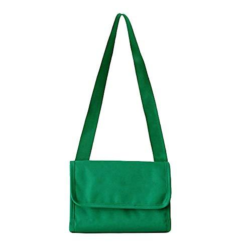 Estuche grande, caja de papelería, caja organizadora, bolsas de hombro impermeables al aire libre unisex senderismo lavado bolsas de maquillaje (verde)