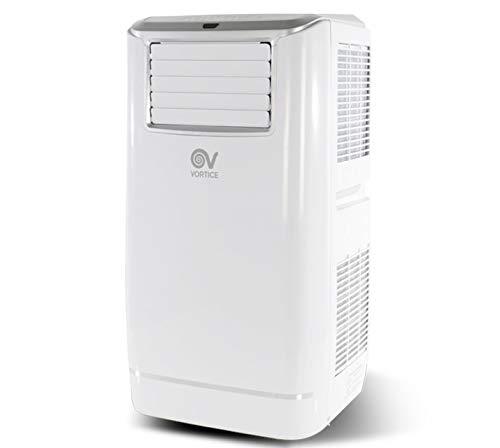 climatizzatore portatile hp Vortice 65003 KRYO-POLAR EVO 13 HP Condizionatore ALL-IN Portatile Automatico Raffrescamento Deumidificazione Riscaldamento 13000 BTU con Timer