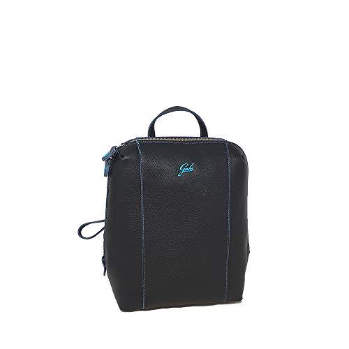 GABS Diva M Rucksack aus Leder Soft Basic schwarz Damen 31 x 28 x 13 cm